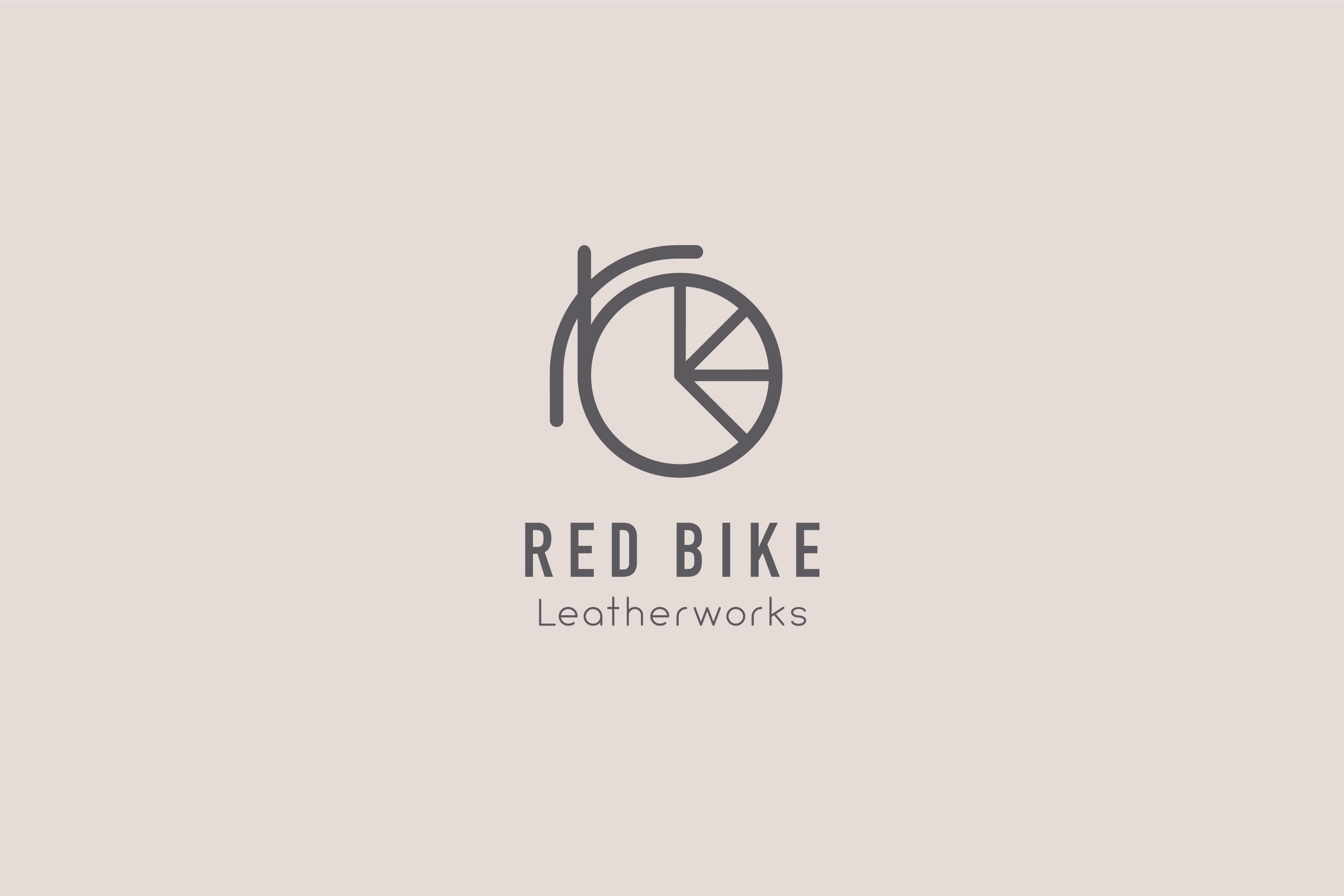 Little Designs Cambridge Red-Bike-Leatherworks-logo-branding
